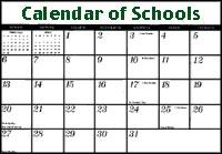 Calendar image.