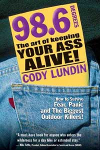 98.6 Keeping your Ass Alive book cover.