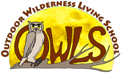 Outdoor Wilderness Survival School (OWLS) Logo.
