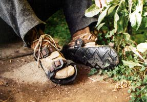 Tire Sandals.